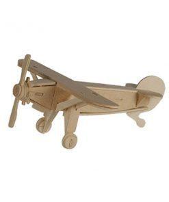 Aereoplano Puzzle di legno