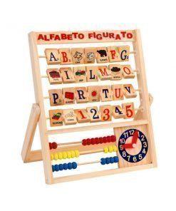 Alfabeto figurato Legnoland