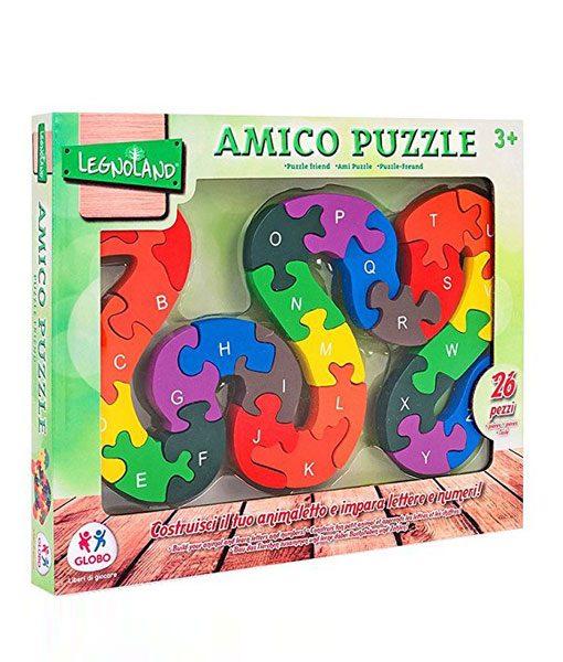 Serpente amico puzzle legnoland