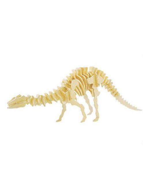 Apatosauro Puzzle di legno