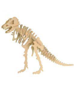 Tirannosauro puzzle di legno