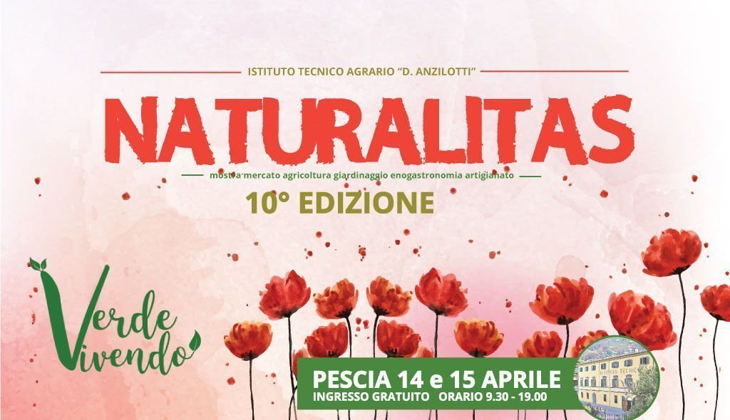 Verde Vivendo a Naturalitas 2018 Pescia