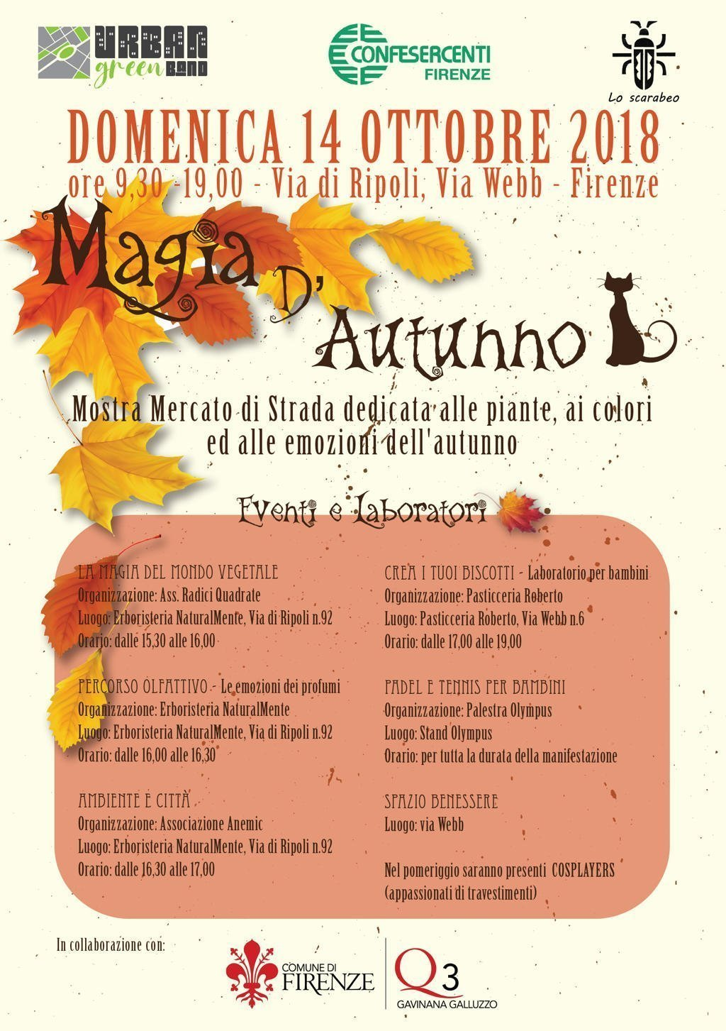 Magia d'autunno 2018 - Firenze
