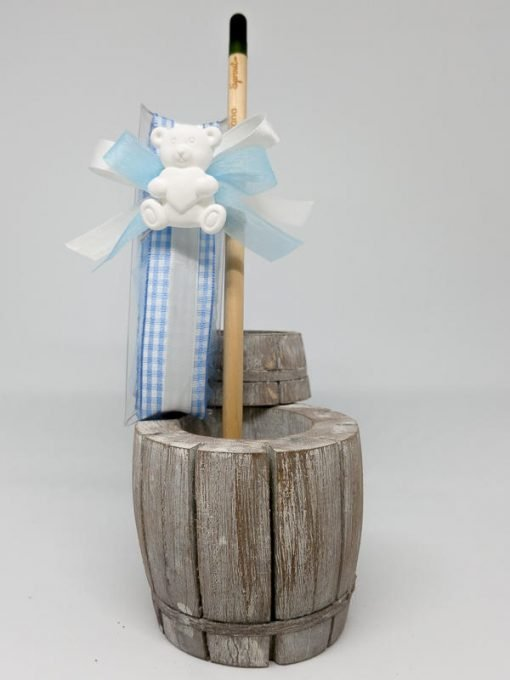 bomboniera battesimo orsetto