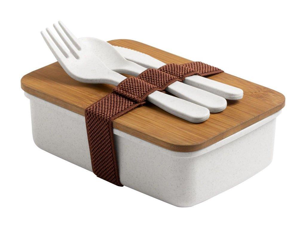 Porta pranzo lunch box bambu Gadget ecologico