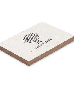 Personalizzazione : SET MEMO in carta piantabile